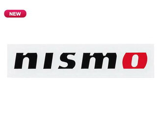 Nissan NISMO collection NISMO logo sticker 20 cm black KWAA050E10BK * NISMO *