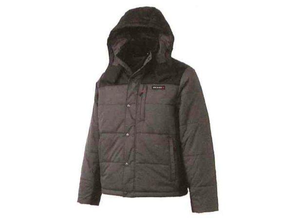 日産コレクション ファッション BASIC フーデッドキルティングブルゾン グレー Sサイズ KWA03-50G41-GY