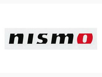 Nissan コレクショングッズニスモ NISMO logo sticker 20cm black KWAA050E10BK