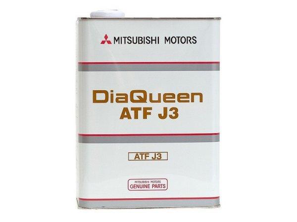 オートマフルード MITSUBISHI/三菱純正【ダイヤクィーン】ATFオイル【ATF-J3】4L【4031610】