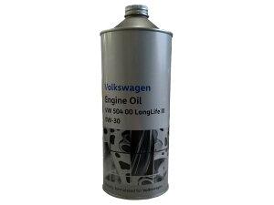 【5日限定ポイント10倍】フォルクスワーゲン 純正 エンジンオイル 0W-30 1L缶 J0VJD3F11