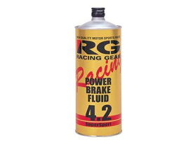 レーシング ギア ( RACING GEAR ) ブレーキフルード DOT4.2 1L RGP-4210 [HTRC4.1]