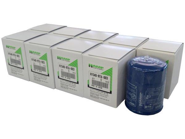 【送料無料!】オイルフィルター ハンプシナジー ホンダ 10個セット H1540-RTA-003
