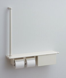 TOTO紙巻器一体型 天然木手すり 62シリーズYHB62LBS/YHB62RBS(収納BOX付)