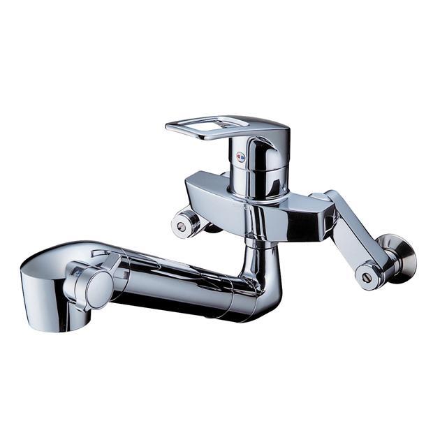 TOTO シングルレバー混合水栓 壁付浄水器付TKHG37J