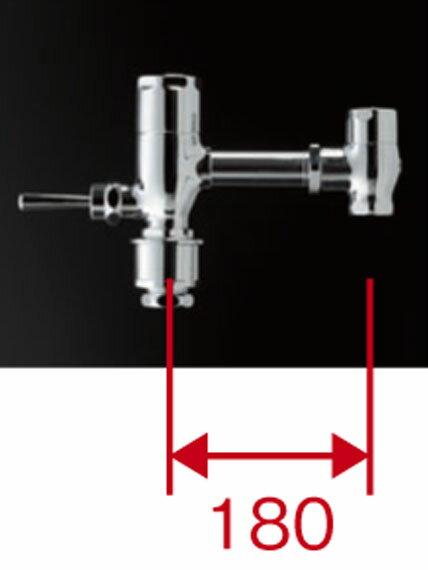 TOTO 節水フラッシュバルブ本体ハンドル式標準品TV550CR