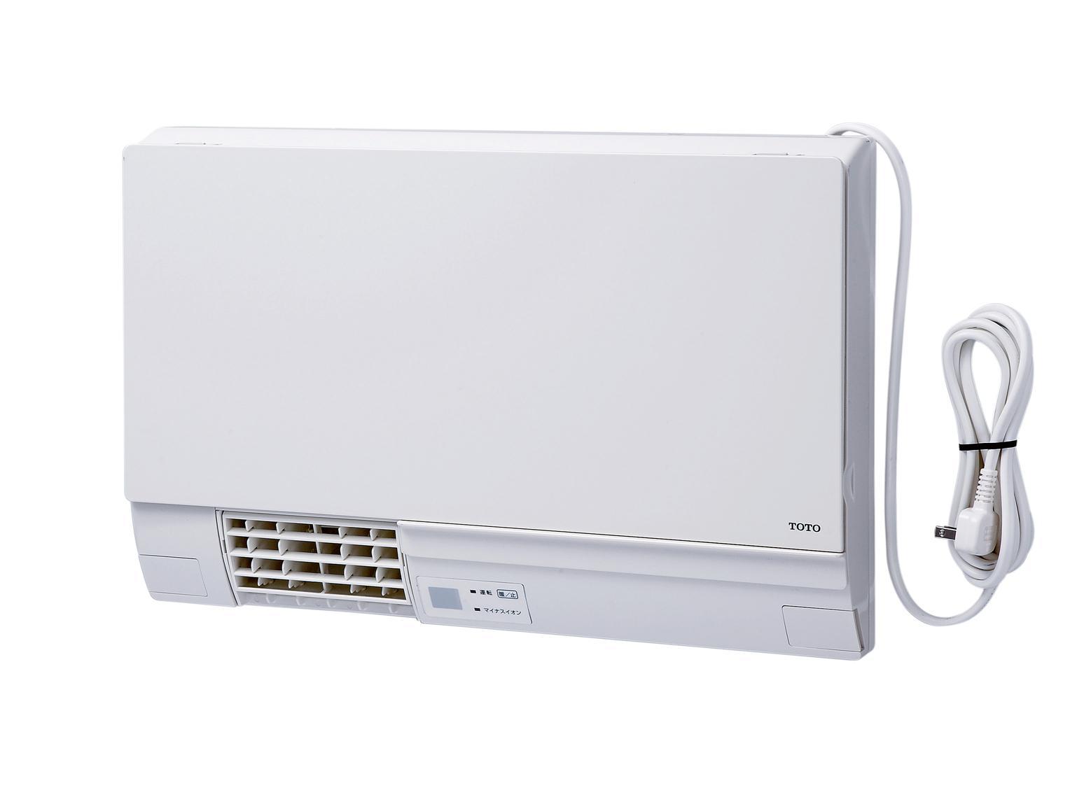 【送料無料】TOTO洗面所用暖房機電源プラグ付き・ワイヤレスリモコン・予約運転機能付TYR340R