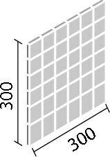 内装壁用デザインクラフト デントキューブ50mm角ネット張り目地共寸法:300×300厚さ:10.0・18.0あたり枚:11.2シート/平米重量:10シート/ケース18.5kgDCF‐50NET/DNC‐1A〜DNC‐2A (代引き不可商品)