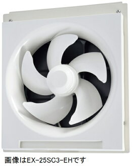 Mitsubishi Electric school standard fan (electric shutter, speed control without no DrawString) power: 100 V power cord plug. 24-hour ventilation with 25 cm EX-25SC3-EH