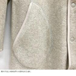 ダントンDANTONレディースノーカラーVネックフリースコートJD-8992(全3色)2021秋冬