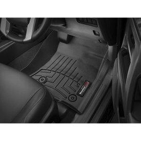 【WeatherTech/ウェザーテック正規輸入元】TOYOTA(トヨタ)ランドクルーザープラド150(2014年〜)右ハンドル車 フロアマット/フロアライナー(フロント&リア)(ブラック)