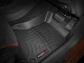 【WeatherTech/ウェザーテック正規輸入元】MERCEDES BENZ(メルセデス ベンツ) GLAクラス X156(2014〜2018年)右ハンドル車 AT車用 フロアマット/フロアライナー(フロント&リア)(ブラック)