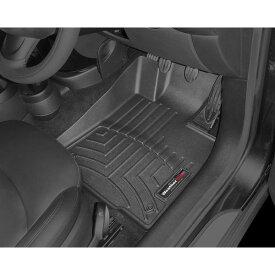 【WeatherTech/ウェザーテック正規輸入元】MINI クロスオーバー R60/ペースマン R61 右ハンドル車 フロアマット/フロアライナー(フロント&リア)(ブラック)