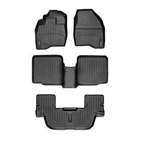 【WeatherTech/ウェザーテック正規輸入元】フォード エクスプローラー(2015〜2016年)左ハンドル車 フロアマット/フロアライナー(フロント&リア)(ブラック)