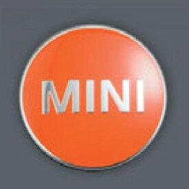 MINI純正 カラード・センター・キャップ(ブライト・オレンジ)(4個セット)(F54/F55/F56/F57/F60)