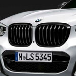 BMW純正キドニー・グリル(ブラック)(G01/G02)