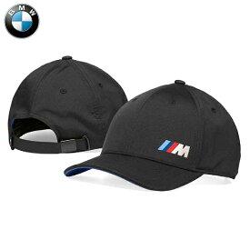 BMW純正 Mコレクション Mロゴ・キャップ(ブラック) 帽子