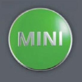 MINI純正 カラード・センター・キャップ(アップル・グリーン)(4個セット)(F54/F55/F56/F57/F60)