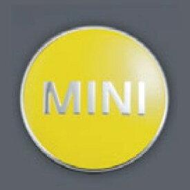 MINI純正 カラード・センター・キャップ(ブライト・イエロー)(4個セット)(F54/F55/F56/F57/F60)