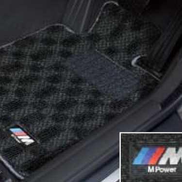 BMW純正 M フロア・マット・セット(ブラック/グレー)(右ハンドル車用)(2013.07〜)