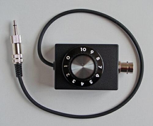 35BNC-AT2 可変アッテネータ内蔵 専用変換ケーブル (BCL)