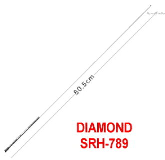 SRH789 handheld antenna first radio engineering industries, ハンディロッド antenna (SRH-789) (SMA)