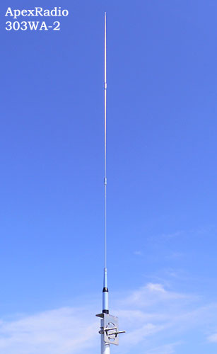 ApexRadio 303WA-2 長中短波受信用アンテナ AM HF