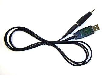 DJ-X81, X11, X8, X7 DJ-G7, DX-R8 用 PC接続ケーブル アルインコ ERW-7 (ERW7)