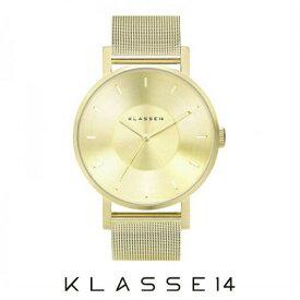 【送料無料】並行輸入品 KLASSE14 クラスフォーティーン VO14GD002M 腕時計 メンズ 男性用腕時計 ステンレススチール ギフト 贈り物 プレゼント シンプル ペアウォッチ クリスマス WATCH watch