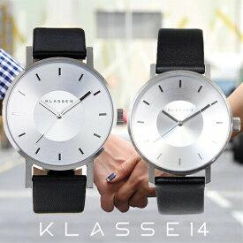 【送料無料】並行輸入品 KLASSE14 クラスフォーティーン VO14SR001M VO14SR001W ペア 腕時計 メンズ レディース イタリア製高級レザー ステンレススチール クリスマス ギフト 贈り物 プレゼント シンプル ペアウォッチ おしゃれ WATCH watch