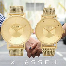 【送料無料】並行輸入品 KLASSE14 クラスフォーティーン VO14GD002M VO14GD003W ペア 腕時計 メンズ レディース ステンレススチール ギフト 贈り物 プレゼント シンプル ペアウォッチ おしゃれ WATCH watch
