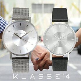 【送料無料】並行輸入品 KLASSE14 クラスフォーティーン VO14SR002M VO14SR001W ペア 腕時計 メンズ レディース イタリア製高級レザー ステンレススチール ギフト 贈り物 プレゼント シンプル ペアウォッチ おしゃれ WATCH watch