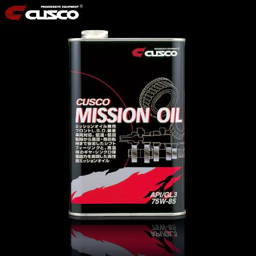 CUSCO MISSION OIL クスコ ミッションオイル 1L缶・API/GL4 75W-85