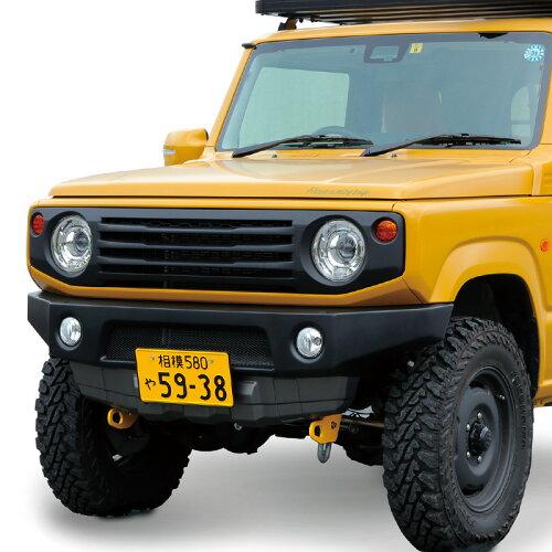 タクティカルフロントバンパー(JB64,JB74)ABS真空成形・ツートーンカラー塗装済み