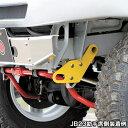 ジムニー牽引フック フロント・カスタムバンパー用 左右有り(けん引フック)JB23,JB33,JB43バンパー変更車用( 3070-…