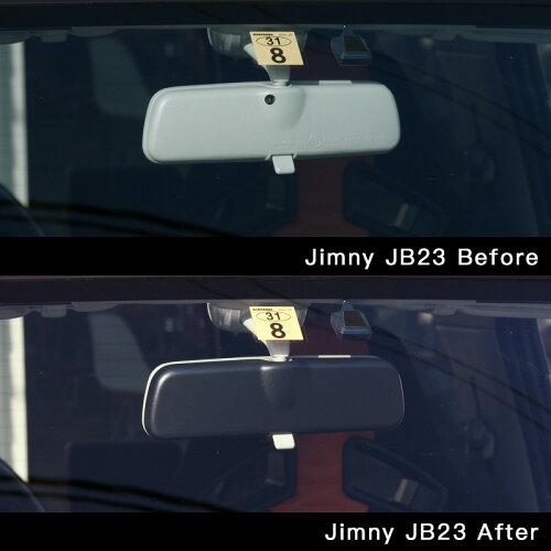 ABSルームミラーカバージムニーJB23,JB33,JB43・JB64・JB74