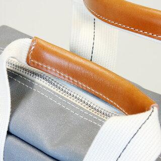 アピオx横濱帆布鞄コラボレーショントラベラーズバッグ(横浜帆布)