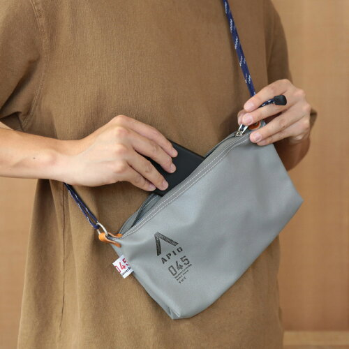 Saccocheサコッシュ(横浜帆布鞄)