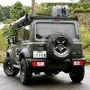JB33, JB32 aluminum wheels for JB31, WILDBOAR X 15inch gun black jimny JB43