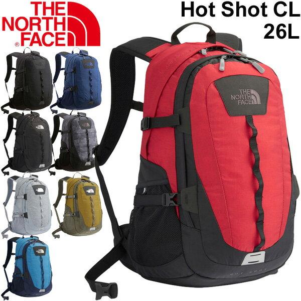 バックパック メンズ レディース ザノースフェイス THE NORTH FACE ホットショット クラシック Hot Shot CLL 26L/リュックサック デイパック アウトドア 普段使い 通勤 通学 定番 多機能 鞄 かばん/ NM71862