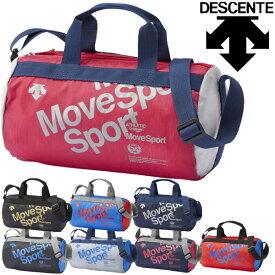 ミニショルダーバッグ DESCENTE デサント MoveSports ミニドラムバッグ 約4L/スポーツバッグ レディース メンズ キッズ ポシェット ポーチ スポーツ観戦 試合 普段使い かばん/ DMANJA32