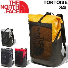 リュック デイパック バッグ メンズ レディース ノースフェイス THE NORTH FACE トータス 34L/バックパック ロールトップ式 アウトドア カジュアル 男女兼用 鞄 かばん/NM81856