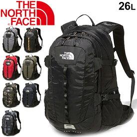 バックパック リュック メンズ レディース バッグ ノースフェイス THE NORTH FACE ホットショット クラシック 26リットル/デイパック 多機能 アウトドア タウンユース 通勤 普段使い 男女兼用 鞄 かばん/NM72006
