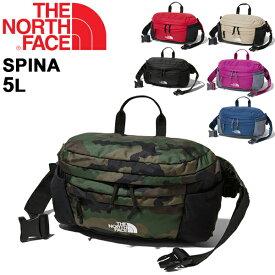 ウエストバッグ メンズ レディース ノースフェイス THE NORTH FACE スピナ SPINA/アウトドアバッグ 5L ウエストポーチ ヒップバッグ キャンプ ハイキング フェス タウンユース かばん /NM71800