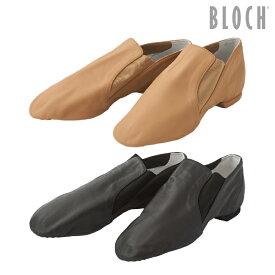 BLOCH(ブロック) ゴア・シューズ(レディース) Elasta bootie サイドゴア スプリットソール ジャズ チア バトントワリング ダンス シューズ 21.4〜26.6cm ブラック/タン(ベージュ)