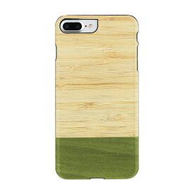 スマホケース 送料無料 iPhone7 Plus iPhone8 Plus 天然木ケース Man & Wood Bamboo Forest (マンアンドウッド バンブーフォレスト)アイフォン カバー 木製 スマホ ケース