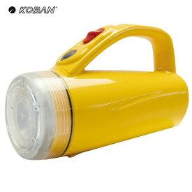 電池一本でライト 乾電池 懐中電灯 白色LED ランタン 防滴仕様 防災グッズ KOBAN KBN-234