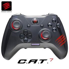 Mad Catz C.A.T. 7 ゲーミングパッド ゲームパッド コントローラー ジョイパッド GCPCCAINBL000-0J MADCATZ マッドキャッツ (06)