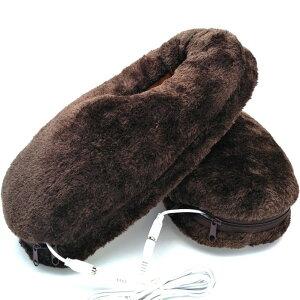 TRIFACE スリッパ フットウォーマー ヒーター内蔵 電気スリッパ 足温器 USB 洗える かわいい あったか あたたかい もこもこ 防寒 ルームシューズ 暖かい 冬用 加熱 冷え性改善 入学式 卒業式 滑