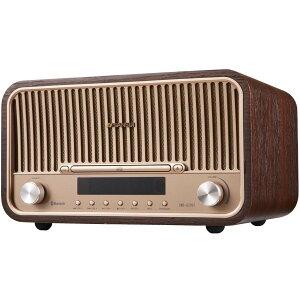SANSUI サンスイ SMS-820BT Bluetooth 対応 CD ステレオシステム Hi-Fi オーディオ 真空管 スピーカー レトロ 昭和 15W+15W (F)
